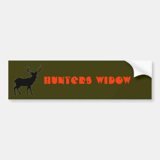 Hunters Widow Bumper Sticker