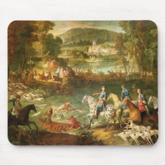 Hunting at the Saint-Jean Pond in the Forest Mouse Mat
