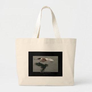 Hunting Bald Eagle Gift Item Jumbo Tote Bag