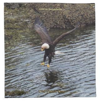 Hunting Bald Eagle Wildlife-theme Cocktail Napkins