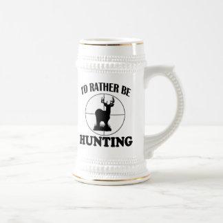 HUNTING BEER STEINS
