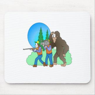 Hunting Bigfoot Mouse Pads