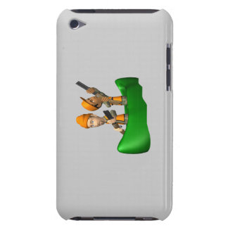 Hunting Boat iPod Touch Cases