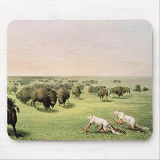Hunting Buffalo Camouflaged Mouse Mat