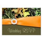 Hunting Camo RSVP Wedding Cards 9 Cm X 13 Cm Invitation Card