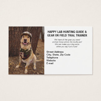 Hunting/Camping Guide & Gear/Field Trial Trainer