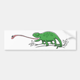 Hunting Chameleon Bumper Sticker