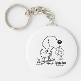 Hunting Dog - Labrador Retriever keychain
