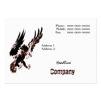 Hunting Eagle Business Card