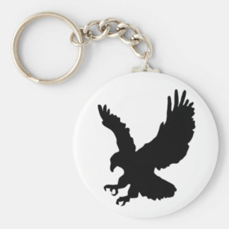Hunting Eagle Keychain