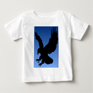 Hunting Eagle on Blue Baby T-Shirt
