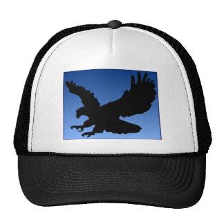 Hunting Eagle on Blue Hat