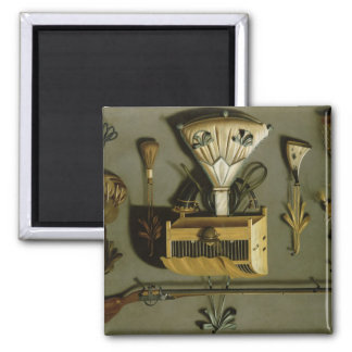 Hunting Equipment Square Magnet