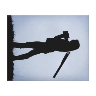 Hunting Girl Canvas