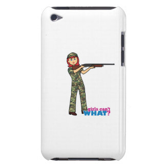 Hunting Girl Barely There iPod Case