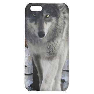 Hunting Grey Wolf in Winter Wildlife iPhone 5C Cover