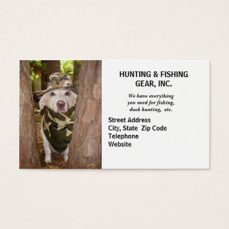 Hunting Guide/Gear Business Card