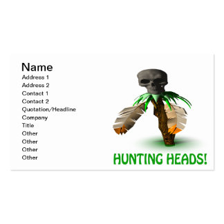 Hunting Heads Business Card