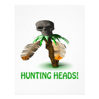 Hunting Heads Personalized Flyer