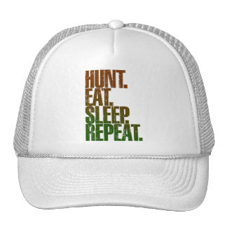 Hunting Hunter 'Hunt, Eat, Sleep, Repeat' Cap