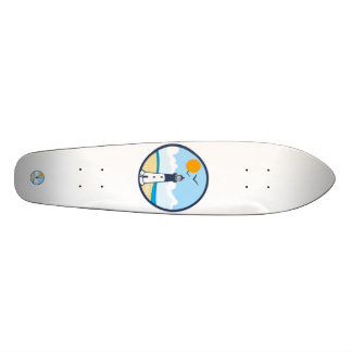 Hunting Island. 18.1 Cm Old School Skateboard Deck