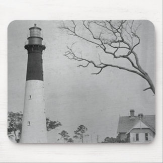 Hunting Island Lighthouse Mouse Pad