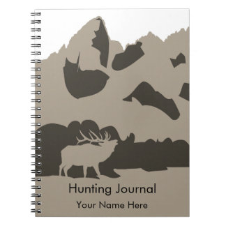 Hunting Journal Notebook