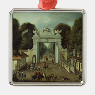 Hunting Lodge in Potsdam, c.1735 Christmas Ornament