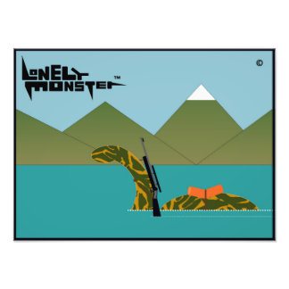 Hunting Lonely Monster Photo Print