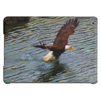 Hunting Mature Bald Eagle Wildlife Art iPad Air Cases