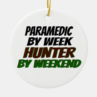 Hunting Paramedic Christmas Ornament