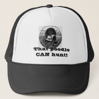 Hunting Poodle Cap