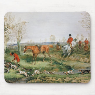 Hunting Scene Mouse Mat