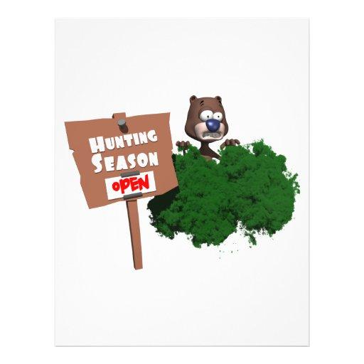 Hunting Season Full Color Flyer