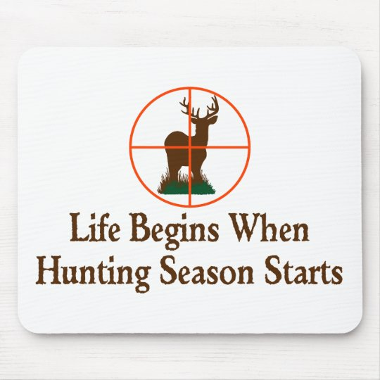 Hunting Season Mouse Mat