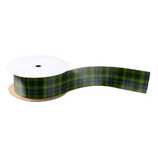 Hunting Stewart Tartan Satin Ribbon