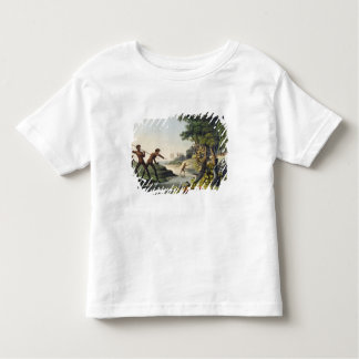 Hunting the Kangaroo, aborigines in New South Wale Toddler T-Shirt