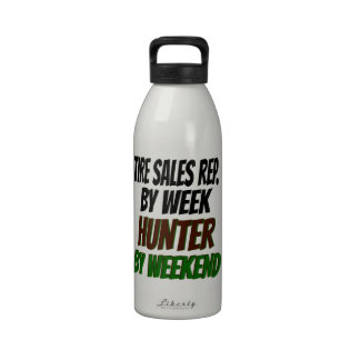 Hunting Tire Sales Representative Reusable Water Bottle