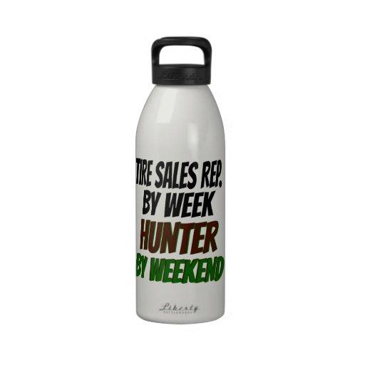 Hunting Tire Sales Representative Reusable Water Bottle