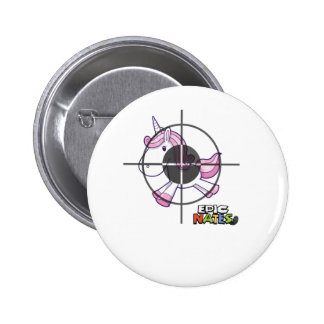 Hunting Unicorns 6 Cm Round Badge