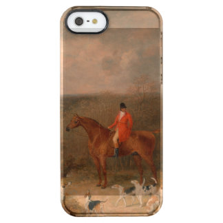 Hunting With Dogs and Horse Famous Oil Painting Clear iPhone SE/5/5s Case