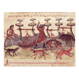 Hunting with Nets Postcard