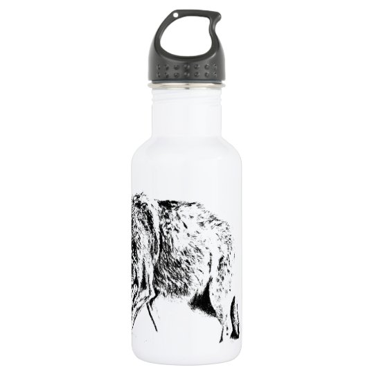 Hunting Wolf 532 Ml Water Bottle