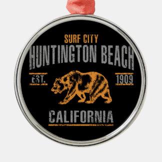 Huntington Beach Christmas Ornament