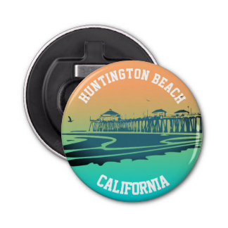 Huntington Beach Pier Bottle Opener