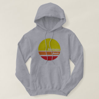 Huntington Beach retro hoodie