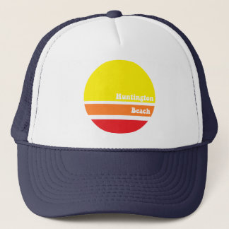 Huntington Beach retro trucker hat