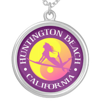 Huntington Beach Silver Plated Necklace