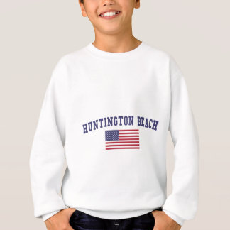 Huntington Beach US Flag Sweatshirt