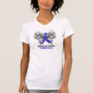 Huntington Disease Awareness Butterfly Tshirt